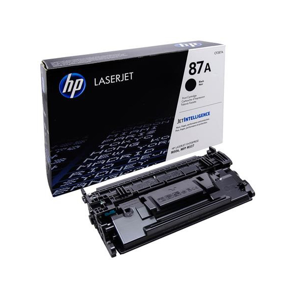 HP 87A Black LaserJet Toner Cartridge, CF287A
