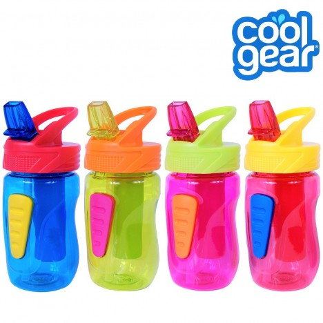 Cool Gear Kids Quorra EZ-Freeze Tritan Water Bottle - Blue (0.35L)