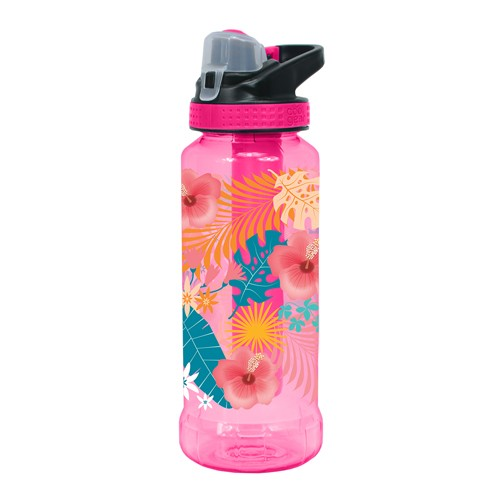 Cool Gear Rigid Printed EZ-Freeze Tritan Water Bottle - Pink (0.946L)