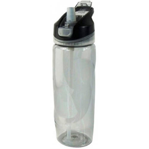 Cool Gear Plastic Arise Autosip Water Bottle - Black, 0.82L
