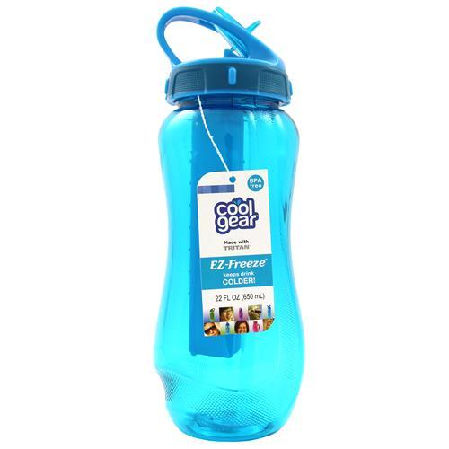 Cool Gear Horizon Sports Water Bottle - Blue (0.65L)