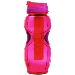 Cool Gear Oasis Water Bottle with Loop - Pink (0.68L)