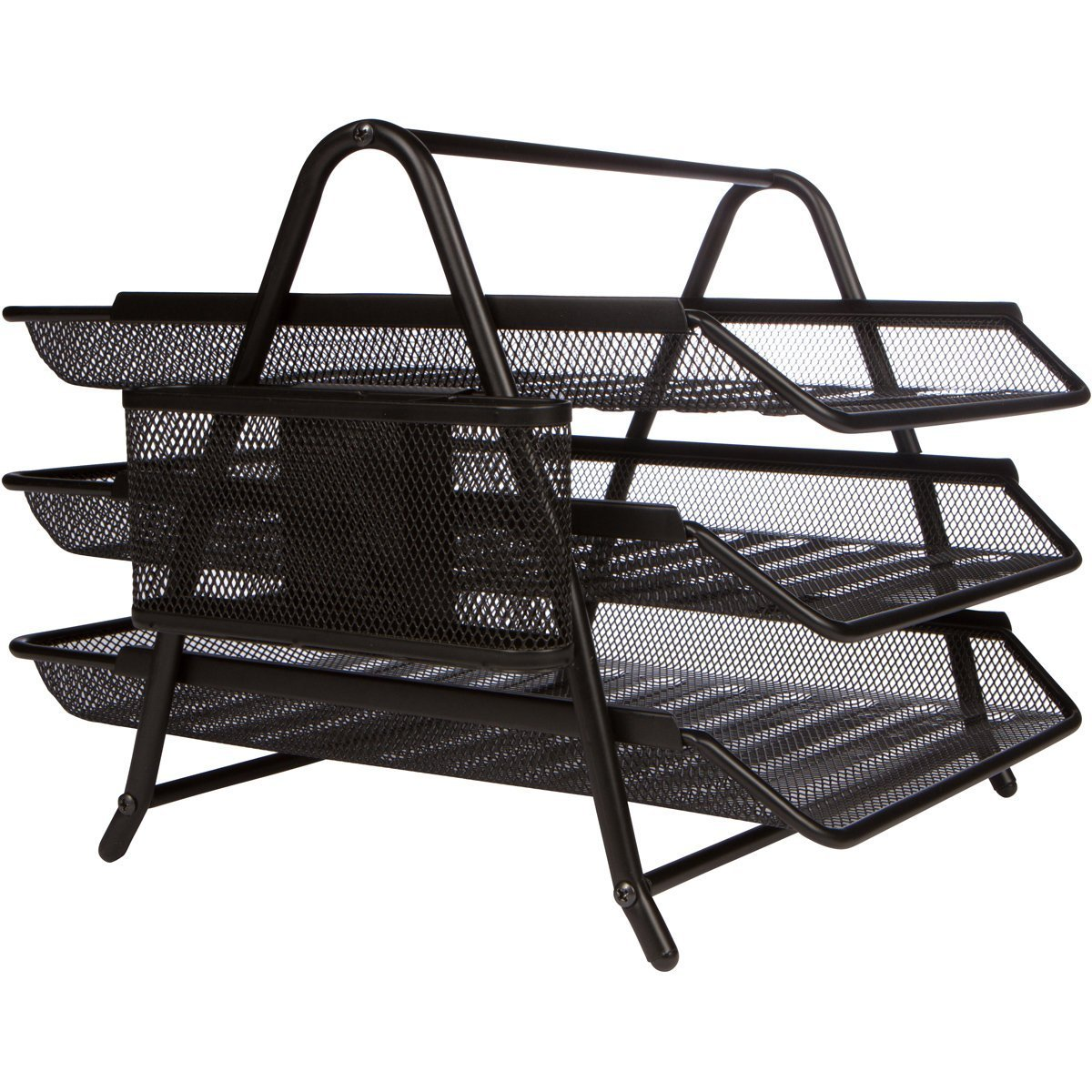 Modo MO-2003 3-tier Metal Mesh Tray Black (pc)