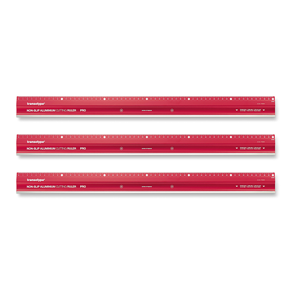 Magnetoplan COP 17806006 Aluminum Cutting Ruler Pro - 60 cm (pc)