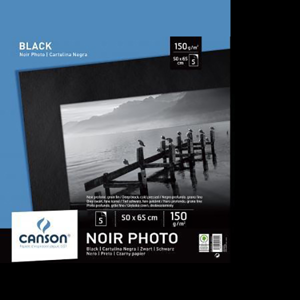Canson Black Photo Paper (Manipack)