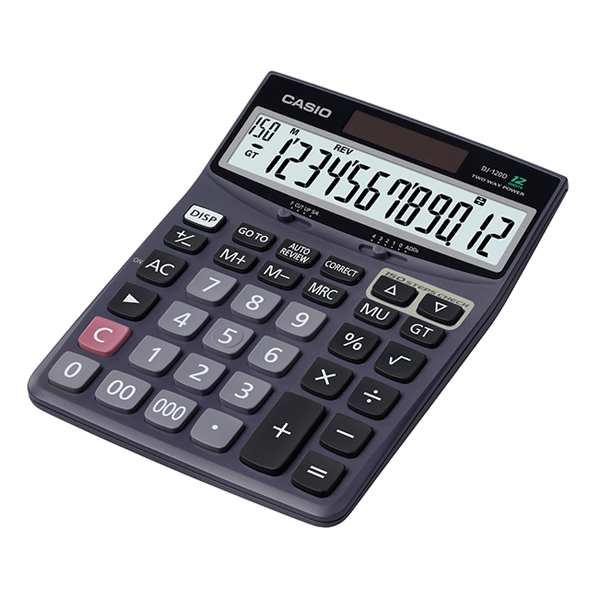 Casio Calculator DJ-120-12Dgt (pc)