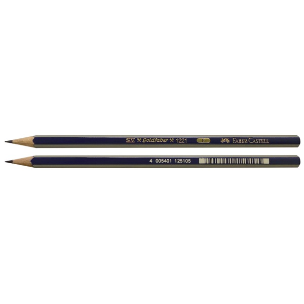 Faber Castell FCI1221F Degree Goldfab Pencil (pkt/12pc)