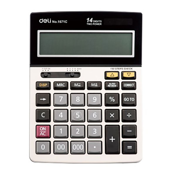 Deli 1671C Desktop Check Calculator