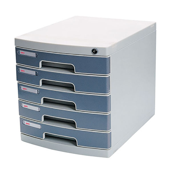 Deli 8855 File Cabinet (Pale Grey)