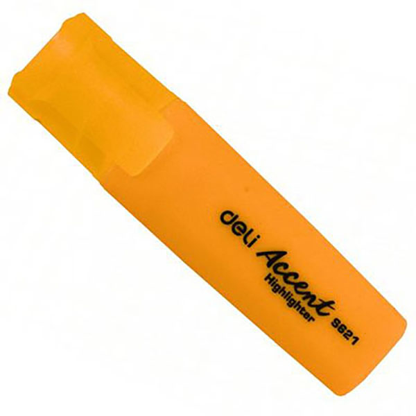 Deli Highlighter - Orange (pkt/10pcs)