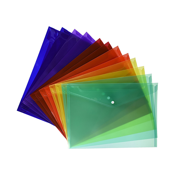 String Plastic Envelope- Green (pc)