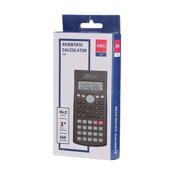 Deli E1710 240F 10 + 2-digit Scientific Calculator