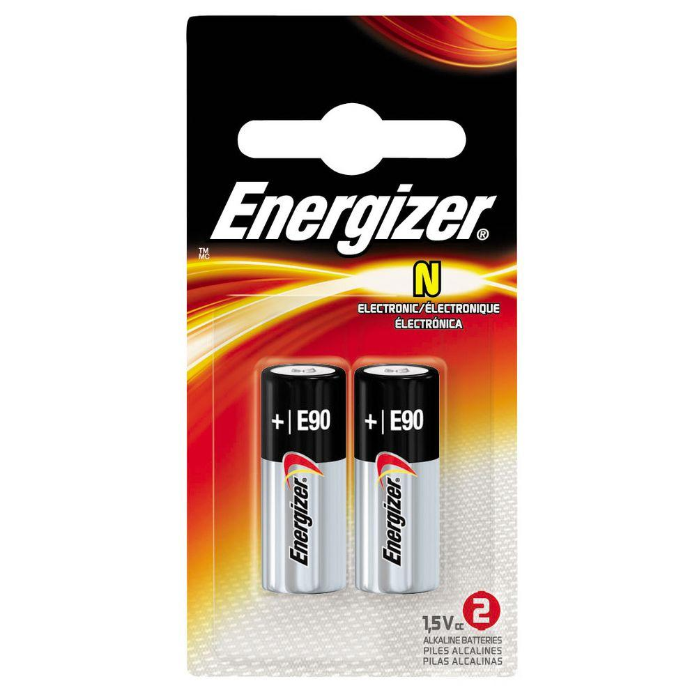 Energizer E90BP2 1.5V Alkaline Battery (pkt/2pcs)