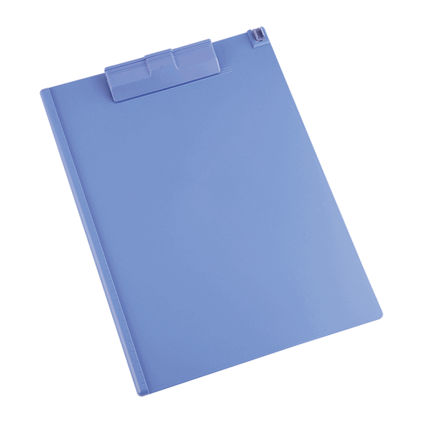 Deli E9253 Plastic A4 Clip Board - Blue (pc)