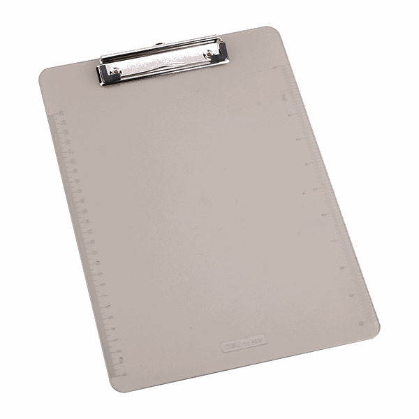 Deli E9256 PS Low-Profile A4 Clip Board - Grey (pc)