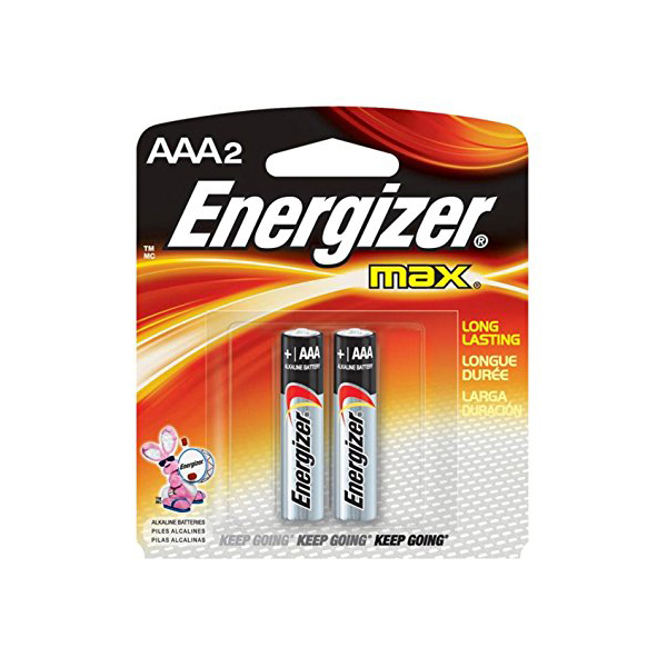 Energizer E92 Mini BP2 AAA Size Alkaline Battery (pkt/2pc)