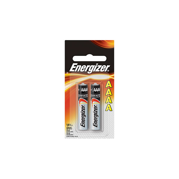 Energizer E96BP2 AAAA 1.5V Alkaline Battery (pkt/2pc)