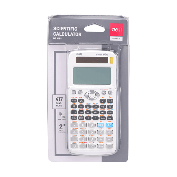 Deli ED991ES 417F Scientific Calculator