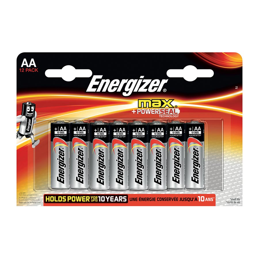 Energizer AA 1.5V Battery (pkt/8pc)