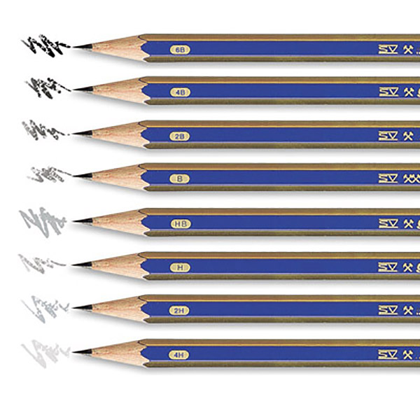 Faber Castell FCI12212H Lead Pencil 2H (pkt/12pc)