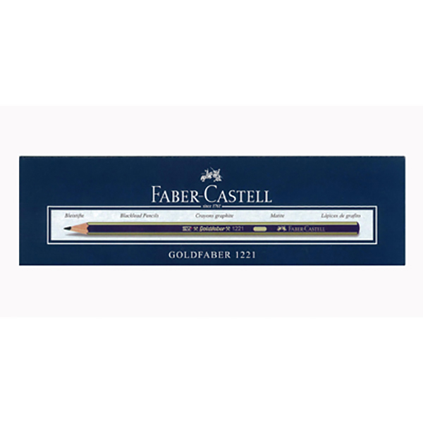 Faber Castell FCI12214H Lead Pencil 4H (pkt/12pc)