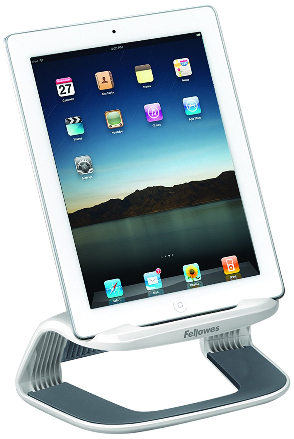Fellowes I-Spire Series Tablet Lift - White/Grey