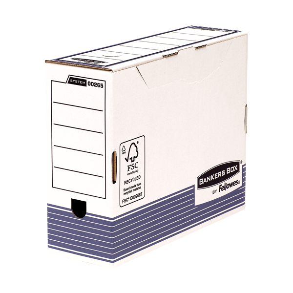 Fellowes System Transfer File - 100mm (pc)