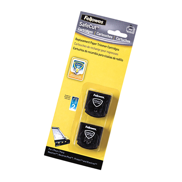 Fellowes Safecut Replacement Blades - Straight Cut (pkt/2pcs)