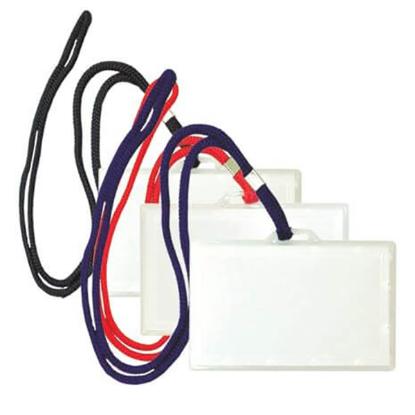 FIS ID Holder Pouch -Horizontal (pkt/25pc)