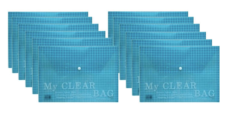 FIS My Clear Bag Blue F/C (pc)