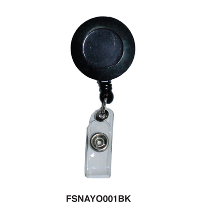 FIS 3.3 cm Name Badge Reel (soft belt 6.8cm) (pkt/25pc)