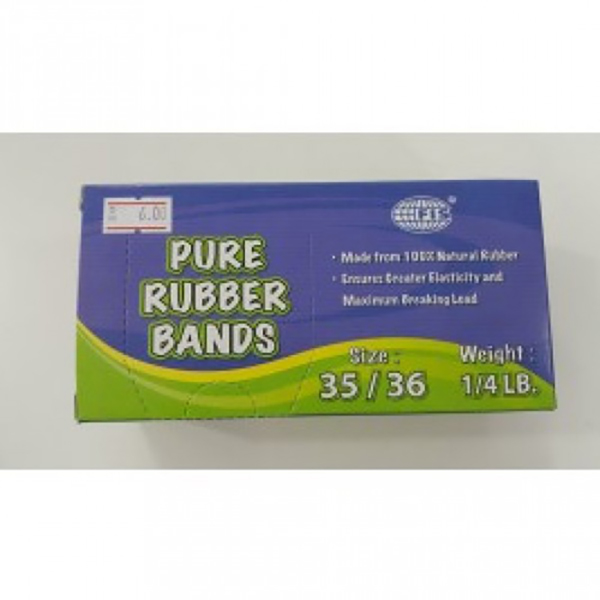 FIS Rubber Band #35 Pure 1/4LB (pkt)