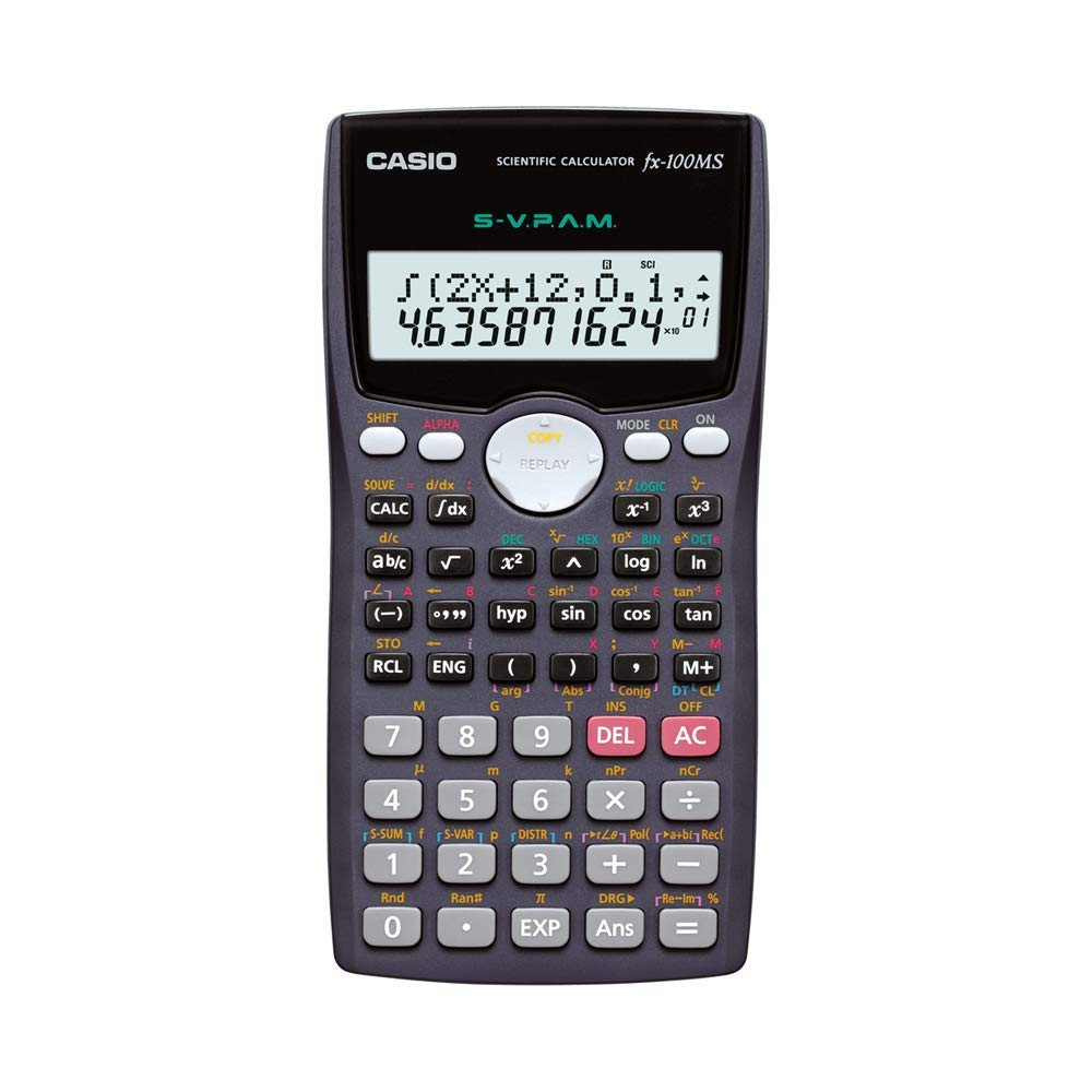 Casio FX-100MS Scientific Calculator - 2 Line Display