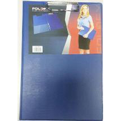 Foldex Clip Board Double A4 - Blue (pc)