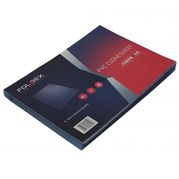 Foldex Binding Sheet A4 (Clear) (pkt)