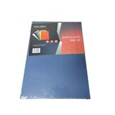 Foldex Binding Sheet A3 - Blue (pkt/100pcs)