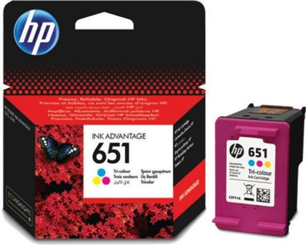 HP Ink 651 Tri-colour (C2P11AE)