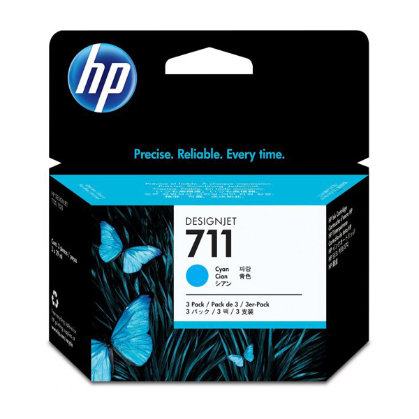 HP 711 (CZ130A) Ink Cartridge 29ml - Cyan