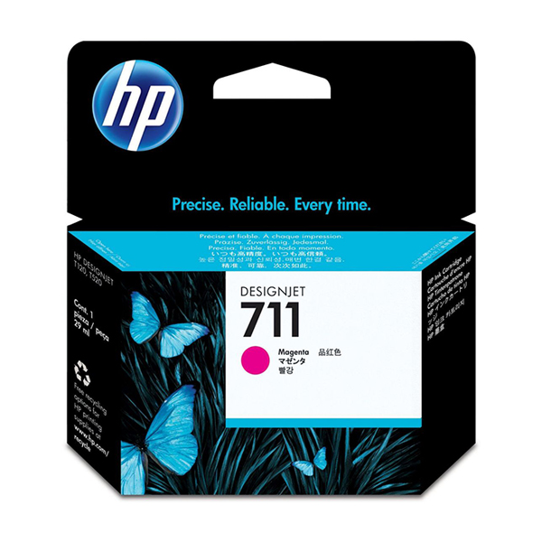 HP 711 (CZ131A) Ink Cartridge 29ml - Magenta