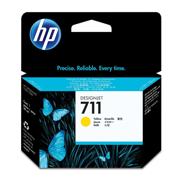 HP 711 (CZ132A) Ink Cartridge 29ml - Yellow