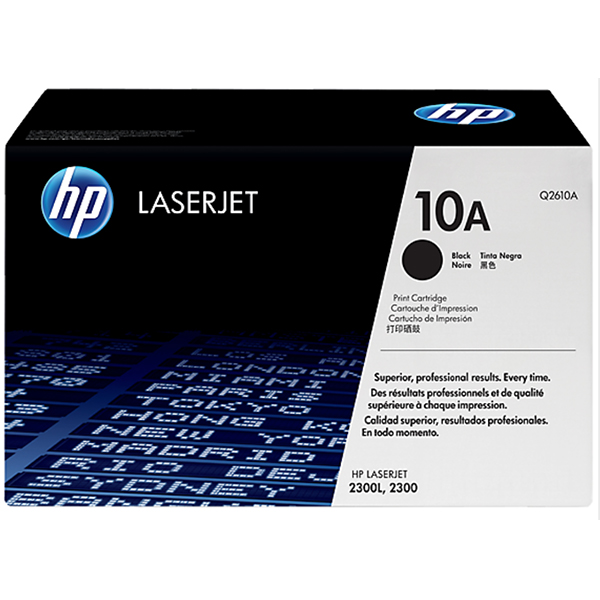 HP 10A Black Toner (Q2610A)