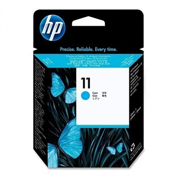 HP Ink 11 Cyan Printhead Cartridge (C4811A)