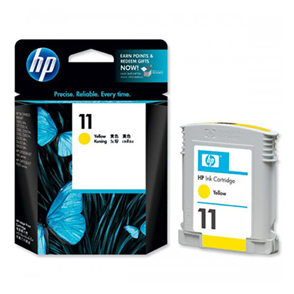 HP Ink 11 Yellow Printhead Cartridge (C4813A)