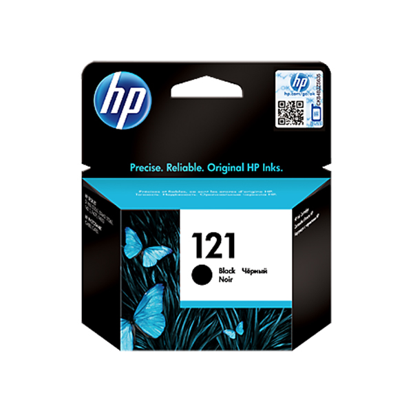 HP Ink Cart 121 CC640 (Black)