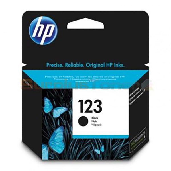 HP Ink 123 Black Ink Cartridge (F6V17AE)
