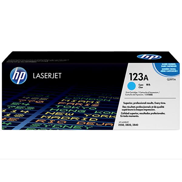 HP 123A Cyan Laserjet Toner (Q3971)