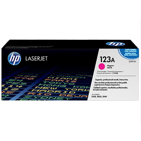 HP 123A Magenta Original Laserjet Toner Cartridge (Q3973A)