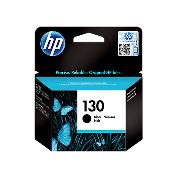 HP Ink 130 Black Ink Cartridge (C8767HE)