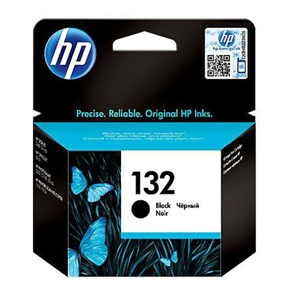 HP Ink 132 Black Ink Cartridge (C9362HE)