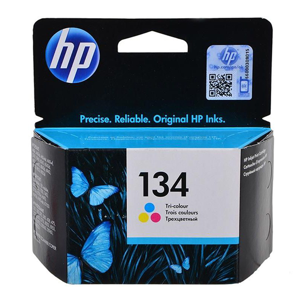 HP Ink 134 Tri-color Ink Cartridge  (C9363HE)